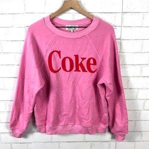 NEW Wildfox Classic Coke Sommers Sweatshirt